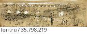 Freedman's (ex-slave) village -Greene Heights Arlington, VA. Редакционное фото, агентство World History Archive / Фотобанк Лори