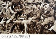 Prince Albert, later King George VI at the National Rifle Association. Редакционное фото, агентство World History Archive / Фотобанк Лори