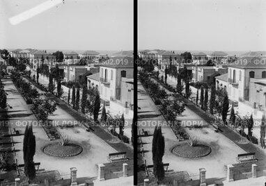 Streets in Tel Aviv; (Palestine) Israel circa 1930