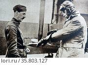 Prince Albert (later King George VI) preparing for flight. Редакционное фото, агентство World History Archive / Фотобанк Лори