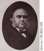 Pierre Paul Broca (28 June 1824 – 9 July 1880) Редакционное фото, агентство World History Archive / Фотобанк Лори