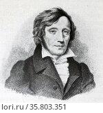 Karl Ernst Ritter von Baer, Edler von Huthorn (28 February 1792 – 28 November 1876). Редакционное фото, агентство World History Archive / Фотобанк Лори