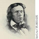 Portrait of Richard Henry Dana. Редакционное фото, агентство World History Archive / Фотобанк Лори