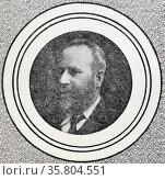 Photograph of Mr Charles Cameron Kingston. Редакционное фото, агентство World History Archive / Фотобанк Лори