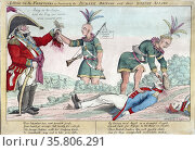 Charles denounces British and Indian depredations on the American frontier during the War of 1812, Редакционное фото, агентство World History Archive / Фотобанк Лори
