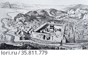 Mecca with the holy sites. (2014 год). Редакционное фото, агентство World History Archive / Фотобанк Лори
