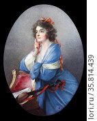 Furstin Anna Liechtenstein-Khevenhuller by Heinrich Friedrich Fuger (1751-1818) Редакционное фото, агентство World History Archive / Фотобанк Лори