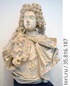 Bust of Moritz Hartmann a Venetian naval officer. Редакционное фото, агентство World History Archive / Фотобанк Лори