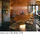 Kentuck Knob, also known as the Hagan House. Редакционное фото, агентство World History Archive / Фотобанк Лори