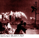 World War II, after the explosion of the atom bomb in August 1945Hiroshima. Редакционное фото, агентство World History Archive / Фотобанк Лори
