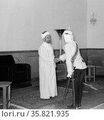 24th anniversary of Arab revolt under King Hussein & Lawrence 1940. . Редакционное фото, агентство World History Archive / Фотобанк Лори