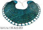 Broad Collar with Elements of Two other Collars 1328 B.C. Редакционное фото, агентство World History Archive / Фотобанк Лори