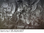Jean Bart boarding of a Dutch boat. 1700. Редакционное фото, агентство World History Archive / Фотобанк Лори