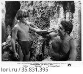 Tarzan and the Jungle Boy' a 1968 adventure film starring Mike Henry. Редакционное фото, агентство World History Archive / Фотобанк Лори