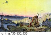 The great spirit by Udo Keppler. Редакционное фото, агентство World History Archive / Фотобанк Лори