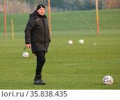 Cheftrainer Thomas Hoßmang 1.FC Magdeburg DFB 3.Liga Saison 2020-... Стоковое фото, фотограф Zoonar.com/Axel Kammerer / age Fotostock / Фотобанк Лори