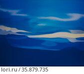 Blue water effect. Стоковое фото, агентство Ingram Publishing / Фотобанк Лори