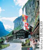 Travel to Switzerland. Стоковое фото, агентство Ingram Publishing / Фотобанк Лори