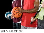 Sports people. Стоковое фото, фотограф Shannon Fagan / Ingram Publishing / Фотобанк Лори