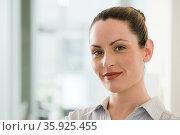 Headshot of a businesswoman. Стоковое фото, фотограф Shannon Fagan / Ingram Publishing / Фотобанк Лори