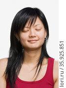 Portrait of a young adult woman. Стоковое фото, фотограф Shannon Fagan / Ingram Publishing / Фотобанк Лори