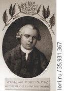 William Curtis 1746-1779. Редакционное фото, агентство World History Archive / Фотобанк Лори