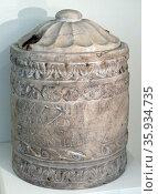 Marble ash-chest of Isias. Редакционное фото, агентство World History Archive / Фотобанк Лори
