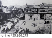 Archbishop's Palace of Lima. Редакционное фото, агентство World History Archive / Фотобанк Лори