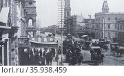 The main street of Adelaide. Редакционное фото, агентство World History Archive / Фотобанк Лори