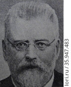 Portrait of Christen Berg (2013 год). Редакционное фото, агентство World History Archive / Фотобанк Лори