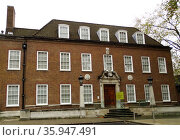 The exterior of The Foundling Museum in London (2013 год). Редакционное фото, агентство World History Archive / Фотобанк Лори