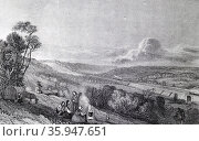 The London to Birmingham railway; Hill above Box Moor, England. (2016 год). Редакционное фото, агентство World History Archive / Фотобанк Лори