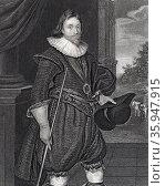 James, 2nd Marquis of Hamilton (1589-1625); Scottish nobleman (2016 год). Редакционное фото, агентство World History Archive / Фотобанк Лори