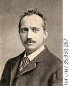 Photographic portrait of William Clark Russell. Редакционное фото, агентство World History Archive / Фотобанк Лори