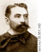Photograph of Stéphane Mallarmé. Редакционное фото, агентство World History Archive / Фотобанк Лори