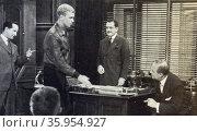 Film still from 'The Spirit of St. Louis' Редакционное фото, агентство World History Archive / Фотобанк Лори