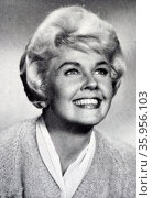 Photograph of Doris Day. Редакционное фото, агентство World History Archive / Фотобанк Лори