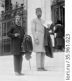 Photograph of the Delegates of India to International Labour Conference, Bern, Switzerland, 1919. Редакционное фото, агентство World History Archive / Фотобанк Лори