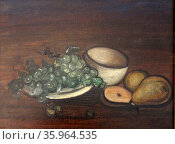Still Life with pears 1939, By Andre Derain (1880 – 1954) Редакционное фото, агентство World History Archive / Фотобанк Лори