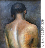 The Back 1923, By Andre Derain. Редакционное фото, агентство World History Archive / Фотобанк Лори