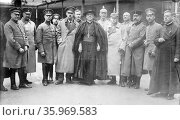 Photograph of German clergyman Felix von Hartmann. Редакционное фото, агентство World History Archive / Фотобанк Лори
