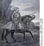 Charles V also known as Charles I (Carlos I) (1500 – 1558), King of Spain. Редакционное фото, агентство World History Archive / Фотобанк Лори