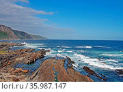 Ttsitsikamma Nationalpark, Meer, Wellen, Ruhe, Stille, Südafrika. Стоковое фото, фотограф Zoonar.com/Wibke Woyke / age Fotostock / Фотобанк Лори
