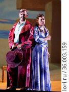 A performance of the opera 'El rey que rabio', at the Teatro de la... Редакционное фото, фотограф Oscar Gonzalez / WENN / age Fotostock / Фотобанк Лори