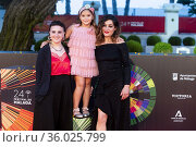 Tamara Casellas, Leire Marin and Julia de Paz attends to Premier ... Редакционное фото, фотограф NACHO LOPEZ / age Fotostock / Фотобанк Лори