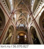 St. Maria in Lyskirchen, grosse romanische Kirche in der Altstadt... Стоковое фото, фотограф Zoonar.com/Stefan Ziese / age Fotostock / Фотобанк Лори