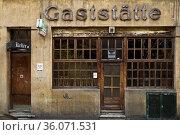 Gaststaette Lommerzheim, auch Lommi genannt, Koelsche Kult Kneipe... Стоковое фото, фотограф Zoonar.com/Stefan Ziese / age Fotostock / Фотобанк Лори