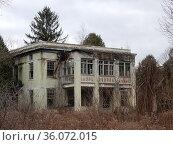 Abandoned Allegany County Poorhouse, Angelica, New York, USA. Стоковое фото, фотограф Barrie Fanton / age Fotostock / Фотобанк Лори