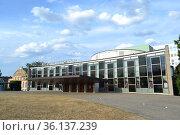 Государственный театр Staatstheater, город Кассель, Германия (2018 год). Редакционное фото, фотограф александр афанасьев / Фотобанк Лори