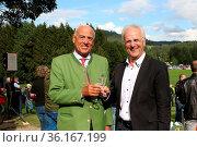 Hatten gut lachen: Gundolf Fleischer (Präsident Badischer Sportbund... Стоковое фото, фотограф Zoonar.com/Joachim Hahne / age Fotostock / Фотобанк Лори